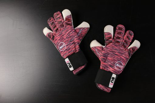 BU1 Signal Pink goalkeeper gloves