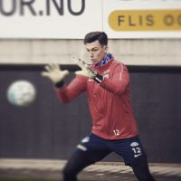 Alex Craninx in BU1 gloves